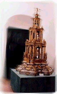 Custodia de Marchena, obra de Francisco de Alfaro